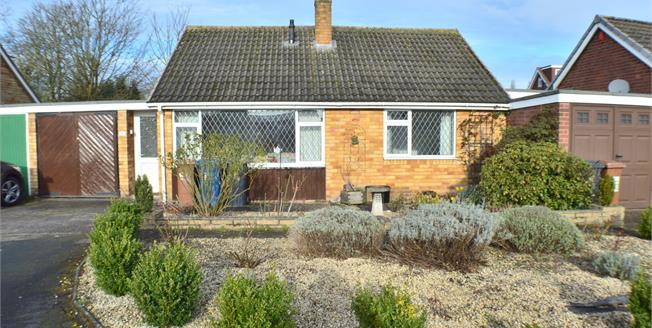 Asking Price £275,000, 2 Bedroom Link Detached House Bungalow For Sale in Lichfield, WS13