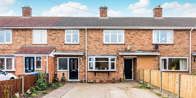 £160,000, 3 Bedroom Terraced House For Sale in Rugeley, WS15