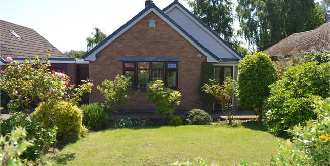 Asking Price £325,000, 3 Bedroom Detached Bungalow For Sale in Lichfield, WS13