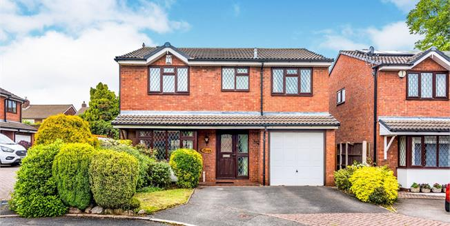 Asking Price £400,000, 4 Bedroom Detached House For Sale in Lichfield, WS13