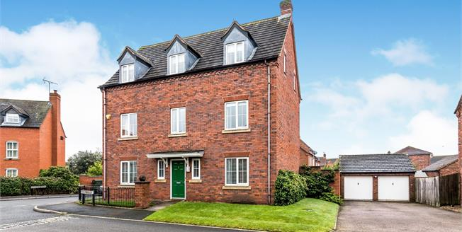 Asking Price £550,000, 5 Bedroom Detached House For Sale in Lichfield, WS13