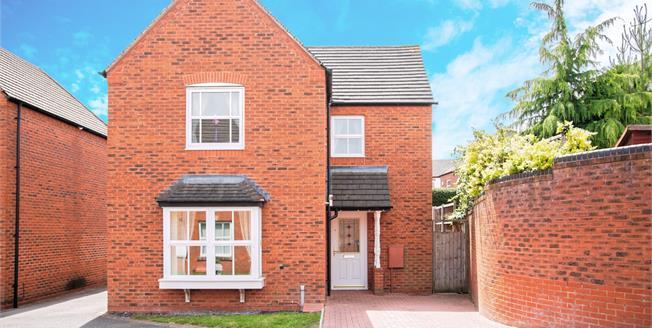 Asking Price £365,000, 3 Bedroom Detached House For Sale in Lichfield, WS13