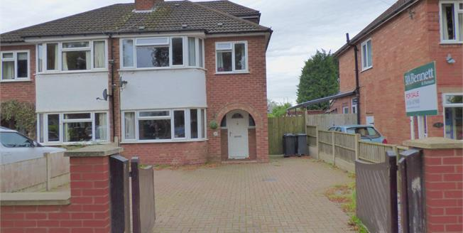 Offers in excess of £340,000, 4 Bedroom Semi Detached House For Sale in Leamington Spa, CV32