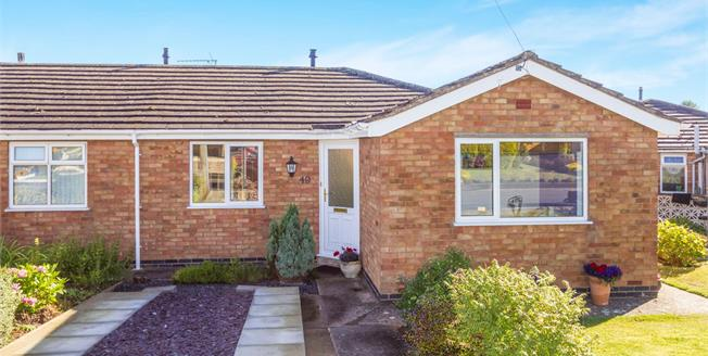 Offers Over £230,000, 2 Bedroom Semi Detached Bungalow For Sale in Bishops Tachbrook, CV33