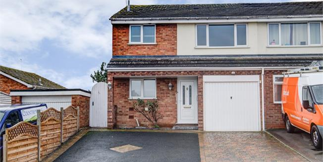 Guide Price £320,000, 3 Bedroom Semi Detached House For Sale in Whitnash, CV31