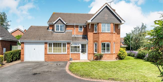 Guide Price £470,000, 4 Bedroom Detached House For Sale in Ryton on Dunsmore, CV8