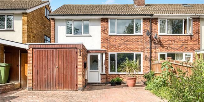 Guide Price £300,000, 3 Bedroom Semi Detached House For Sale in Southam, CV47