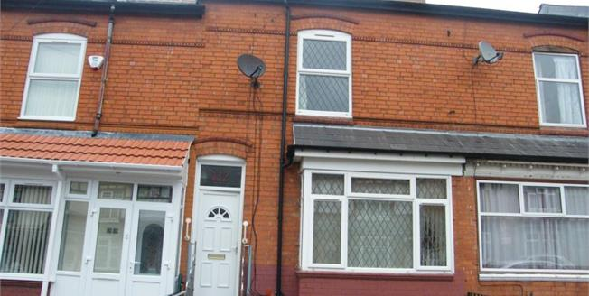 Offers Over £145,000, 3 Bedroom Terraced House For Sale in Birmingham, B11