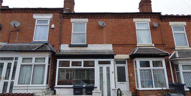 Asking Price £120,000, 2 Bedroom Terraced House For Sale in Sparkhill, B11