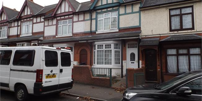 Asking Price £180,000, 3 Bedroom Terraced House For Sale in Birmingham, B11