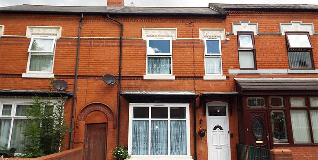 Offers Over £195,000, 3 Bedroom Terraced House For Sale in Birmingham, B11