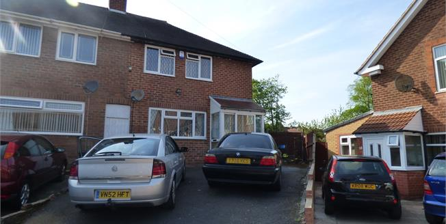 Fixed Price £160,000, 3 Bedroom End of Terrace House For Sale in Birmingham, B13