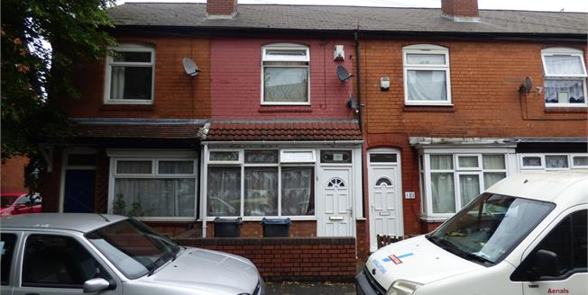 Asking Price £115,000, 2 Bedroom Terraced House For Sale in Birmingham, B12