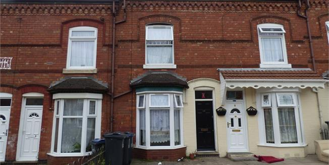 Asking Price £105,000, 3 Bedroom Terraced House For Sale in Birmingham, B11
