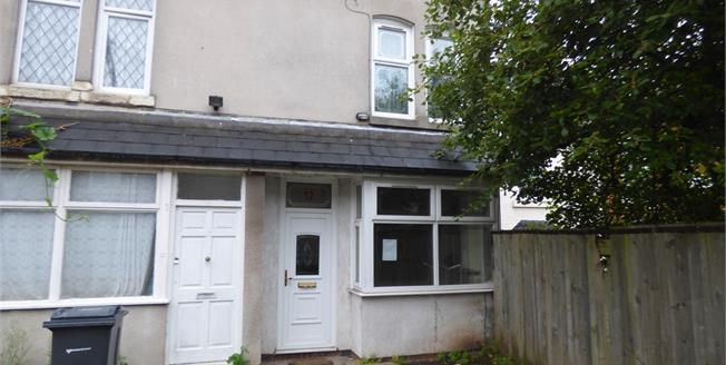 Asking Price £110,000, 3 Bedroom End of Terrace House For Sale in Birmingham, B12