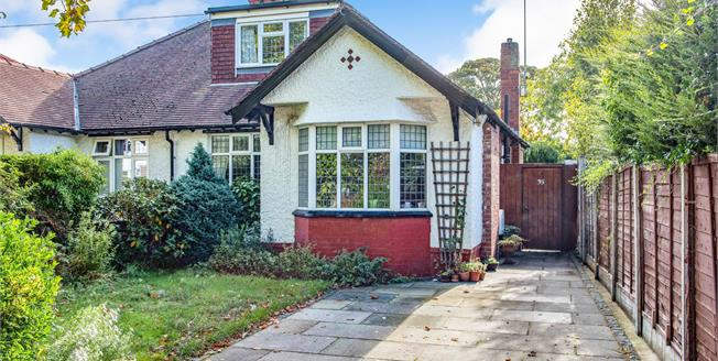 Asking Price £300,000, 3 Bedroom Semi Detached Bungalow For Sale in Formby, L37
