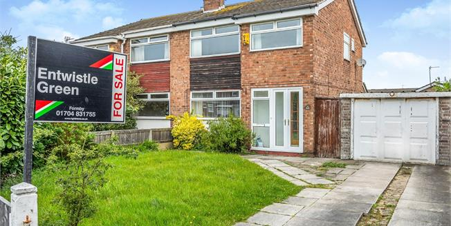 Offers Over £200,000, 3 Bedroom Semi Detached House For Sale in Formby, L37