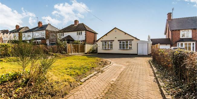 Offers Over £240,000, 2 Bedroom Detached Bungalow For Sale in Birmingham, B31