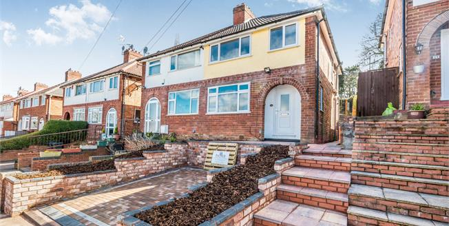 Offers Over £175,000, 3 Bedroom Semi Detached House For Sale in Birmingham, B31