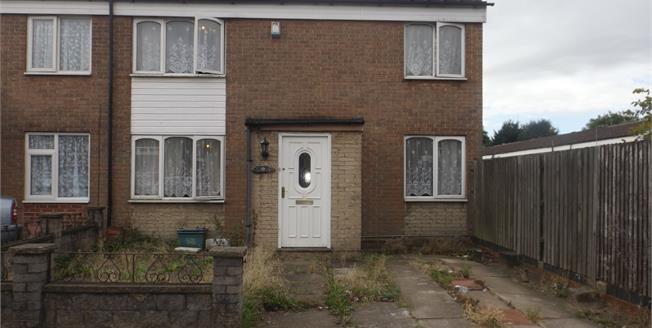 Offers Over £120,000, 3 Bedroom End of Terrace House For Sale in Birmingham, B31