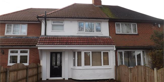 Guide Price £150,000, 3 Bedroom Terraced House For Sale in Oldbury, B68