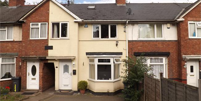 Offers Over £140,000, 3 Bedroom Terraced House For Sale in Birmingham, B32