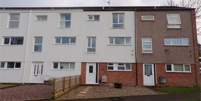 Offers Over £160,000, 3 Bedroom Terraced House For Sale in Redditch, B98