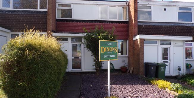 Offers Over £145,000, 3 Bedroom Terraced House For Sale in Redditch, B97