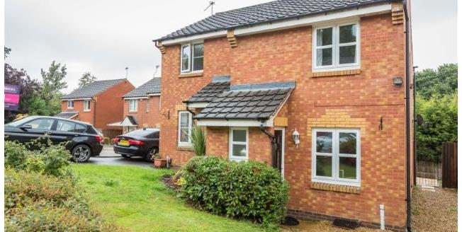 Guide Price £169,000, 2 Bedroom Semi Detached House For Sale in Redditch, B98