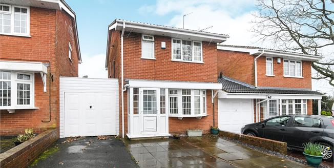 Offers Over £240,000, 3 Bedroom Link Detached House For Sale in Redditch, B97