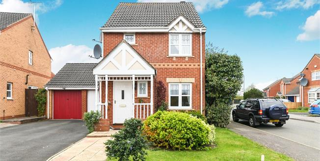 Offers Over £230,000, 3 Bedroom Link Detached House For Sale in Redditch, B97