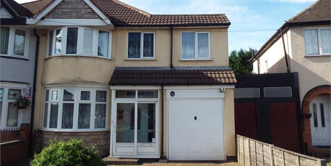 Asking Price £210,000, 4 Bedroom Semi Detached House For Sale in Birmingham, B26