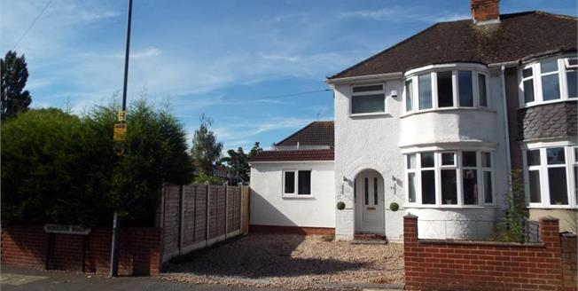 Offers Over £180,000, 3 Bedroom Semi Detached House For Sale in Birmingham, B26