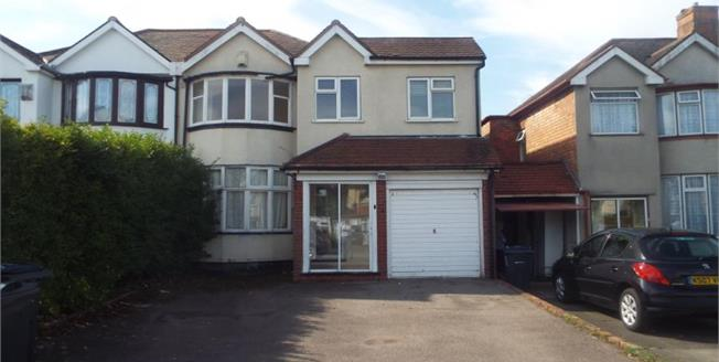 Asking Price £240,000, 4 Bedroom Semi Detached House For Sale in Birmingham, B26