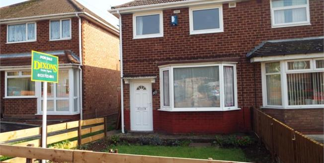 Offers in excess of £165,000, 3 Bedroom Semi Detached House For Sale in Birmingham, B26