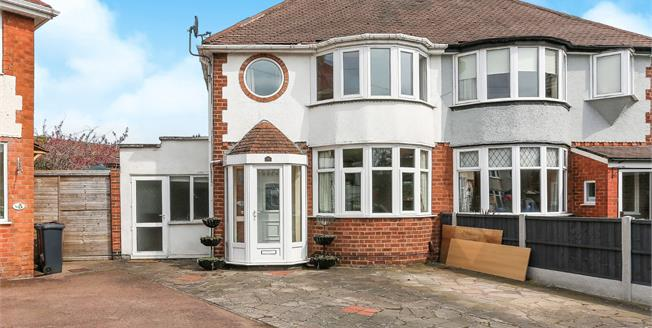 Offers Over £270,000, 3 Bedroom Semi Detached House For Sale in Solihull, B92