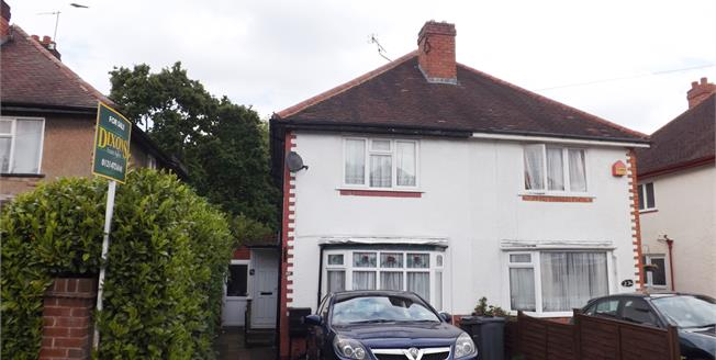 Asking Price £160,000, 2 Bedroom Semi Detached House For Sale in Selly Oak, B29