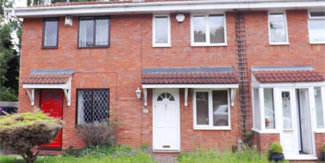 Asking Price £167,500, 2 Bedroom Terraced House For Sale in Birmingham, B29