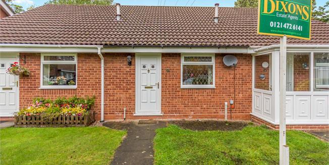 £135,000, 1 Bedroom Terraced Bungalow For Sale in Birmingham, B29