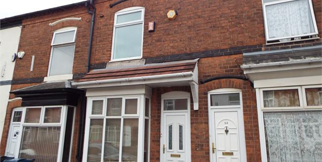 Offers Over £145,000, 2 Bedroom Terraced House For Sale in Selly Oak, B29