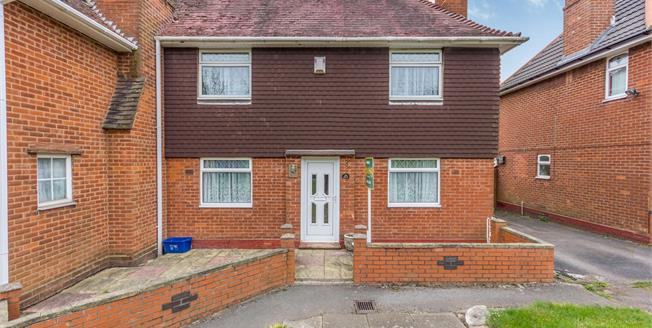 Offers in the region of £175,000, 3 Bedroom Semi Detached House For Sale in Birmingham, B29
