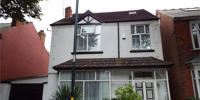 Asking Price £375,000, 4 Bedroom Detached House For Sale in Birmingham, B29