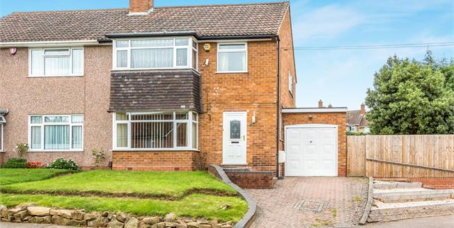 Offers Over £240,000, 3 Bedroom Semi Detached House For Sale in Birmingham, B29