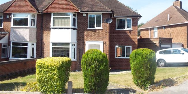Asking Price £290,000, 4 Bedroom Semi Detached House For Sale in Solihull, B92
