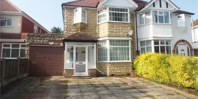 Offers Over £240,000, 3 Bedroom Semi Detached House For Sale in Solihull, B92