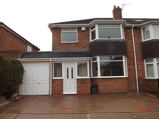 3 Bedroom Semi Detached House For Sale In Solihull For Offers Over