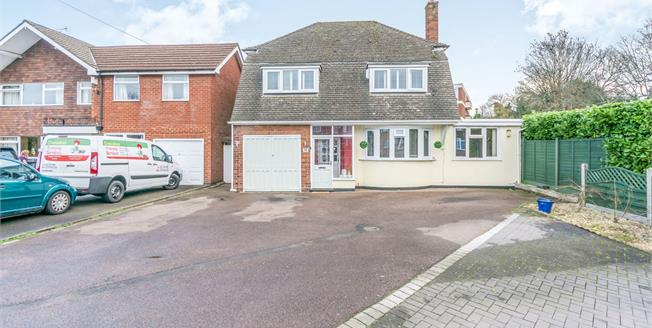 Asking Price £425,000, 3 Bedroom Detached House For Sale in Solihull, B92