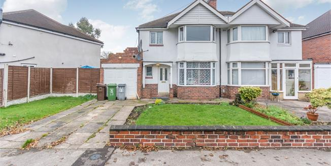 Offers Over £300,000, 3 Bedroom Semi Detached House For Sale in Solihull, B92