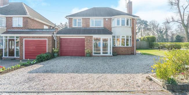 Asking Price £500,000, 4 Bedroom Detached House For Sale in Solihull, B91