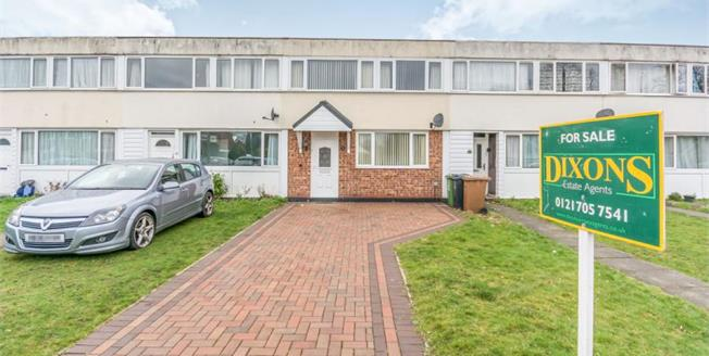 £200,000, 3 Bedroom Terraced House For Sale in Solihull, B92